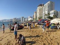 Ein Tag am Strand Lizenzfreie Stockfotografie