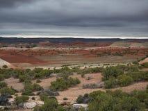 Ein Tal im Bighorn-Schlucht-Erholungsgebiet Stockbilder