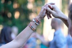 Ein Tanz am Festival lizenzfreie stockfotografie