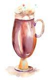 Ein Tasse Kaffee Lizenzfreies Stockfoto