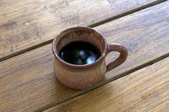Ein Tasse Kaffee lizenzfreies stockbild