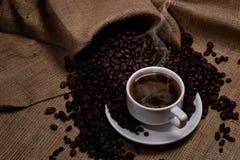 Ein Tasse Kaffee stockfotografie