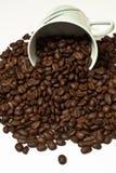 Ein Tasse Kaffee v2 Lizenzfreies Stockbild