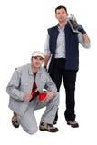 Ein Team von Händlern Stockfoto