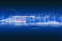 Ein Technologie-themenorientierter Hintergrund stockbild