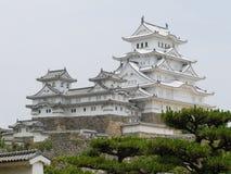 Ein Teil von Himeji-Schloss Stockbilder