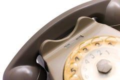 Ein Telefon von den siebziger Jahren Stockfotos