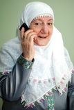 Ein Telefonaufruf Lizenzfreies Stockfoto