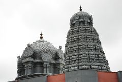 Ein Temle in Haridwar stockbild