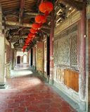 Ein Tempel in Lukang stockfotos