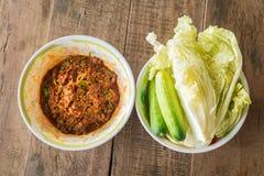 Ein thailändisches Lebensmittel Stockbild