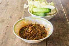 Ein thailändisches Lebensmittel Lizenzfreies Stockbild