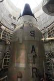 Ein Titan II ICBM in seinem Silo Stockfoto