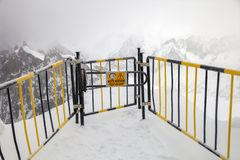 Ein Tor zum weißen Tal stockbilder