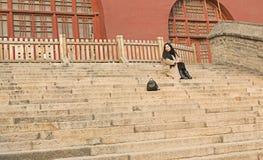 EIN TOURIST Lizenzfreie Stockfotos