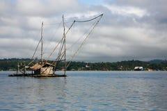Ein traditionelles Fischernetz Lizenzfreie Stockfotos