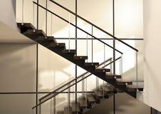 Ein Treppenhaus Lizenzfreies Stockbild