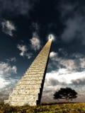 Ein Treppenhaus stock abbildung