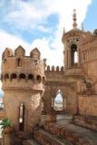 Ein Turm von Colomares-Schloss Lizenzfreies Stockbild