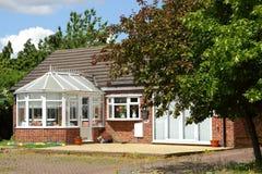 Ein typisches englisches Haus Lizenzfreie Stockfotos
