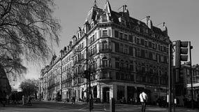 Ein typisches Gebäude in London, Großbritannien Lizenzfreies Stockbild