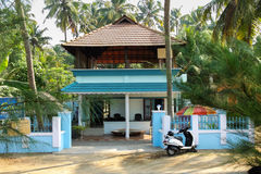 Ein typisches Inder-Kerala-Haus Lizenzfreie Stockfotos
