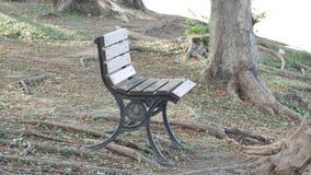 Ein Ufergegend-Stuhl stockfotos