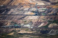 Ein ungewöhnliches Großkraftwerk stockfotos