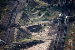 Ein ungewöhnliches Großkraftwerk stockbild