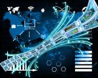 Ein ununterbrochener Informationsfluss Lizenzfreie Stockfotos