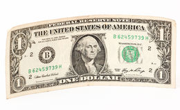 Ein US-Dollar lizenzfreie stockfotografie