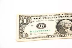 Ein US-Dollar lizenzfreie stockfotos