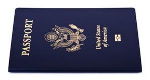 Lokalisierter amerikanischer Pass Stockfotos