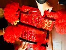 Ein Verfahren in der Hochzeit, Teigwaren, hat eine gute Moral stockfotos