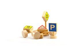 Ein Verkehrszeichen Lizenzfreies Stockfoto