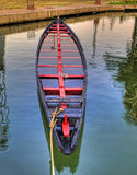 Ein verlassenes altes Boot Lizenzfreies Stockfoto