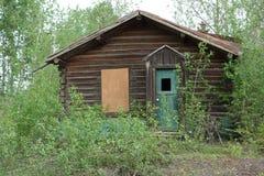 Ein verlassenes Blockhaus Lizenzfreie Stockfotografie