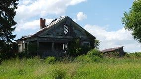 Ein verlassenes Haus Stockfotografie