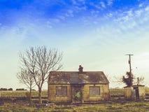Ein verlassenes Haus in Irland Lizenzfreie Stockbilder