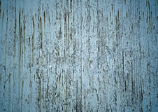Ein verwittertes Schalenfarbenbrett Stockfoto