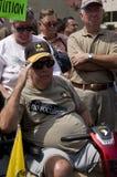 Ein Veteran begrüßt Lizenzfreie Stockbilder
