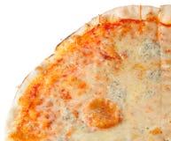 Ein Viertel Pizza Lizenzfreies Stockfoto