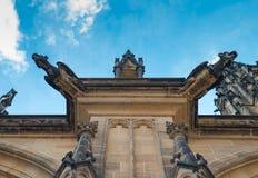 Ein von Wasserspeier St. Vitus Cathedral Stockbilder