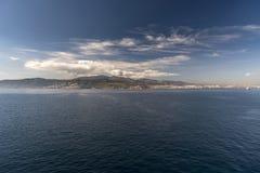 Ein Vorort von Algesiras Spanien von der Königin Elizabeth Lizenzfreies Stockfoto
