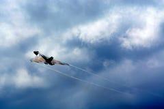 Ein Vulcan-Bomber Stockfotos