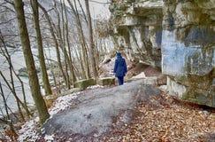 Ein Wanderweg im Niagara auf dem See lizenzfreies stockfoto