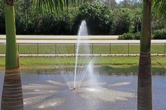 Ein Wasserbrunnen lizenzfreie stockbilder