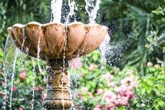 Ein Wasserbrunnen genommen bei Rose Garden, Phetkasem, Thailand Lizenzfreie Stockbilder