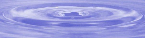 Ein Wassertropfen Lizenzfreies Stockfoto