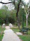 Ein Weg im Park Lizenzfreie Stockbilder